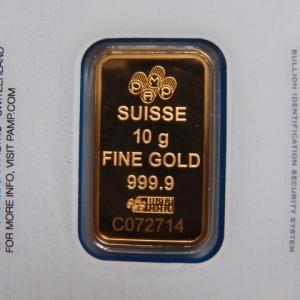 スイス パンプ社製 純金10g インゴット Fortuna|goldtohki|02