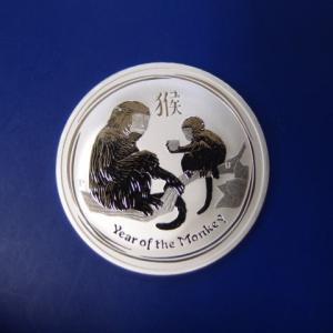 オーストラリア 干支銀貨1オンス 申年 2016年|goldtohki