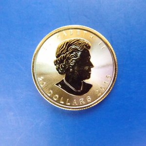カナダ メイプルリーフ金貨 1/2オンス 2018年...