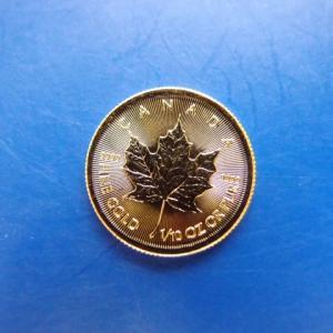 カナダ メイプルリーフ金貨 1/10オンス 2019年|goldtohki|04