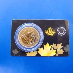 カナダ グリズリーベア 1オンス金貨 2016年 99999|goldtohki