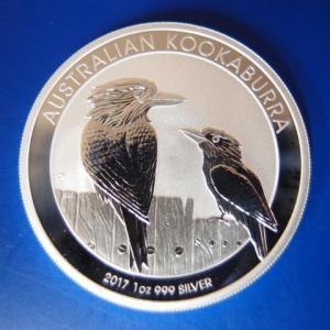 オーストラリア カワセミ銀貨1オンス 2017年|goldtohki