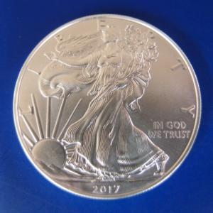 アメリカ イーグル銀貨 2017年|goldtohki