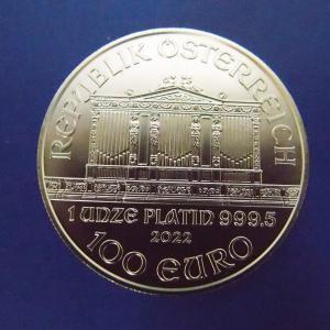 オーストリア プラチナウイーンハーモニー 1オンス|goldtohki