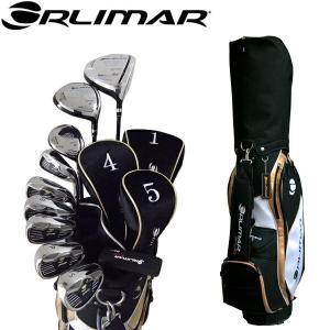 オリマー ORM-900 メンズ ゴルフ フルセット クラブ10本+キャディバッグ付 golf-atlas