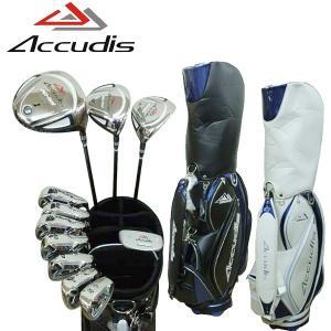 アキュディス AD-501 メンズ ゴルフセット 11本組  キャディバッグ付  golf-atlas