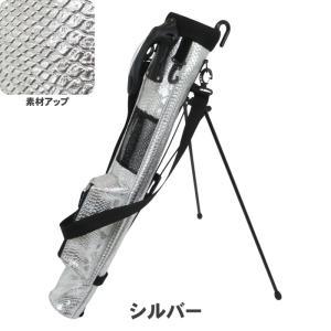ATCC-503 セルフスタンド クロコ型押し クラブケース 【背面フック付き】(ワニ柄合皮レザー)|golf-atlas|03