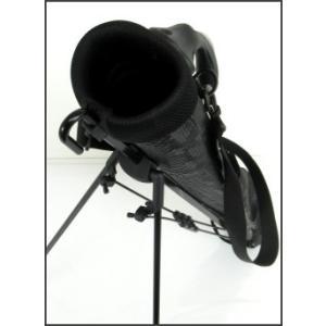 ATCC-503 セルフスタンド クロコ型押し クラブケース 【背面フック付き】(ワニ柄合皮レザー)|golf-atlas|05