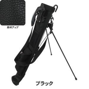 ATCC-503 セルフスタンド シボ加工 クラブケース  【背面フック付き】(合皮レザー)|golf-atlas|02