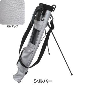 ATCC-503 セルフスタンド シボ加工 クラブケース  【背面フック付き】(合皮レザー)|golf-atlas|03