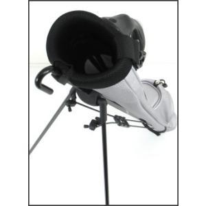 ATCC-503 セルフスタンド シボ加工 クラブケース  【背面フック付き】(合皮レザー)|golf-atlas|06