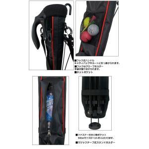 【背面フック付きモデル】 ATCC-503 セルフスタンド クラブケース (ラウンド用ホルダーバッグ)|golf-atlas|04