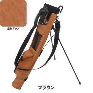 ATCC-503 セルフスタンド 水シボ加工 クラブケース  【背面フック付き】(エピ調合皮レザー) |golf-atlas|03
