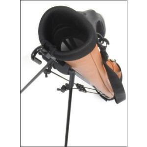 ATCC-503 セルフスタンド 水シボ加工 クラブケース  【背面フック付き】(エピ調合皮レザー) |golf-atlas|06
