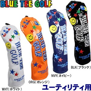 BLUE TEE GOLF ブルーティーゴルフ エナメル ヘッドカバー ユーティリティ用