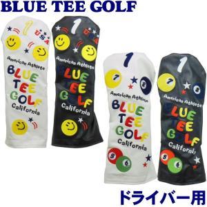 BLUE TEE GOLF ブルーティーゴルフ ヘッドカバー ドライバー用 (スマイル&ピンボール)