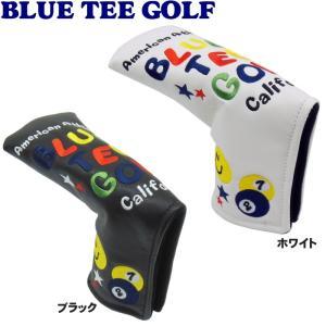 BLUE TEE GOLF ブルーティーゴルフ スマイル&ピンボール パターカバー ピンタイプ用|golf-atlas