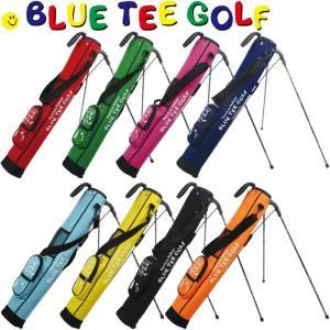BLUE TEE GOLF ブルーティーゴルフ CC-001 ストレッチ セルフスタンドバッグ フード付き golf-atlas
