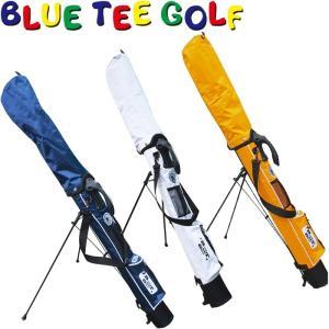 BLUE TEE GOLF ブルーティーゴルフ セルフスタンド クラブケース フード付き golf-atlas