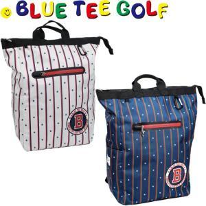BLUE TEE GOLF ブルーティーゴルフ ストライプナイロン トート型バックパック/ボストンバッグ BTG-TT002   |golf-atlas