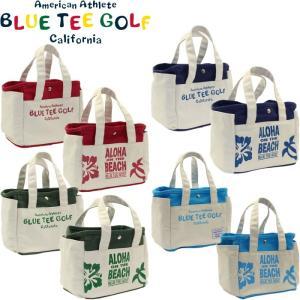 ブルーティーゴルフ アロハ オン ザ ビーチ ラウンドトートバッグ BTG-TT004 【BLUE TEE GOLF  ALOHA ON THE BEACH】  golf-atlas