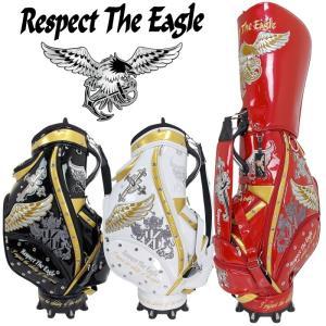 RESPECT THE EAGLE リスペクト ザ イーグル カートキャディバッグ CBEG-001 エナメル素材 |golf-atlas