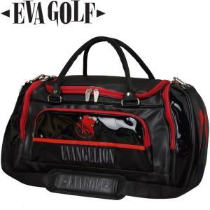 EVA GOLF エヴァンゲリオン ボストンバッグ NERV カラー 【EVANGELION GOLF】  |golf-atlas