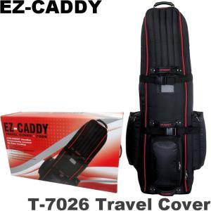 EZキャディー T-7026 ローラー付トラベルカバー (8.5-9.5インチキャディバッグ対応) |golf-atlas