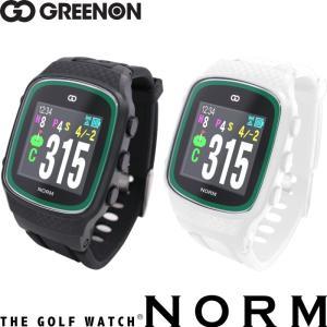 Green On グリーンオン ザ・ゴルフウォッチ ノルム THE GOLF WATCH NORM G015B/G015W  【腕時計型ゴルフナビ/GPSキャディー/スマホ連動】  |golf-atlas