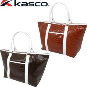 kasco キャスコ KST-117B トートバック (ゴルフ/ビジネス兼用クロコダイル調トートバッグ) |golf-atlas