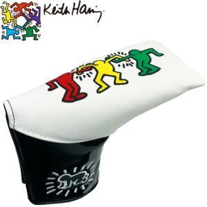 キースヘリング KHPC-01 パターカバー (ピンタイプ/セミマレット用) 【Keith Haring キース・ヘリング】   |golf-atlas