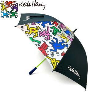キースヘリング KHUB-01 アンブレラ ゴルフ傘 (UVカット/晴雨兼用) 【Keith Haring キース・ヘリング】   |golf-atlas