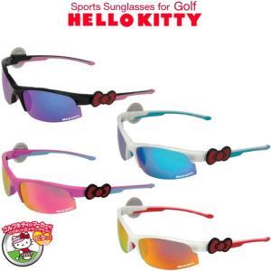 【郵便なら送料300円】 HELLO KITTY  ハローキティ スポーツサングラス for ゴルフ (マグネットマーカー/巾着付き)|golf-atlas