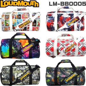 LOUDMOUTH ラウドマウス  LM-BB0005 ボストンバッグ |golf-atlas