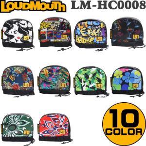 LOUDMOUTH ラウドマウス  ヘッドカバー アイアン用(アイアンカバー) LM-HC0008/IR  |golf-atlas
