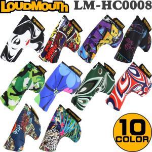 LOUDMOUTH ラウドマウス  パターカバー ピンタイプ用 LM-HC0008/PN  |golf-atlas