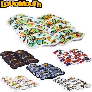 LOUDMOUTH ラウドマウス  アイアンカバー 9個セット LM-IC0001  |golf-atlas