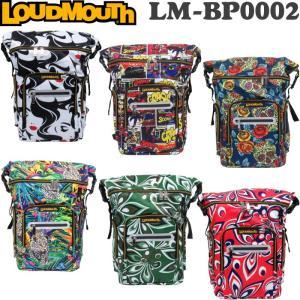 LOUDMOUTH ラウドマウス  LM-BP0002 バックパック (ゴルフ用バッグ/カジュアルバッグ)|golf-atlas