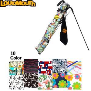Loudmouth ラウドマウス LM-CC0003 セルフスタンド クラブケース フード&タオル付 |golf-atlas