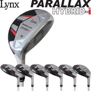 Lynx リンクス PARALLAX パララックス HYBRID 中空 アイアン 6本組セット (#5-PW)|golf-atlas