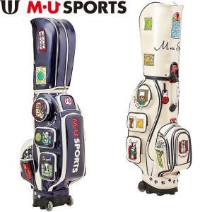 M・U SPORTS MUスポーツ 703C1100 キャディバッグ ローリングソール|golf-atlas