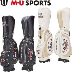 M・U SPORTS MUスポーツ 703P1102 キャディバッグ ローリングソール  |golf-atlas
