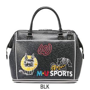 M・U SPORTS MUスポーツ   703P2200 ボストンバッグ  |golf-atlas|02