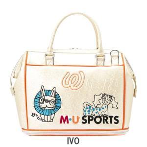 M・U SPORTS MUスポーツ   703P2200 ボストンバッグ  |golf-atlas|04