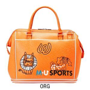 M・U SPORTS MUスポーツ   703P2200 ボストンバッグ  |golf-atlas|06