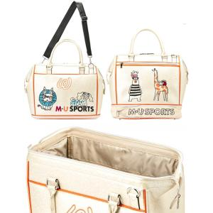 M・U SPORTS MUスポーツ   703P2200 ボストンバッグ  |golf-atlas|08