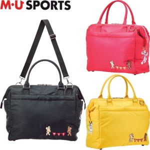 M・U SPORTS MUスポーツ   703P6202 ボストンバッグ |golf-atlas