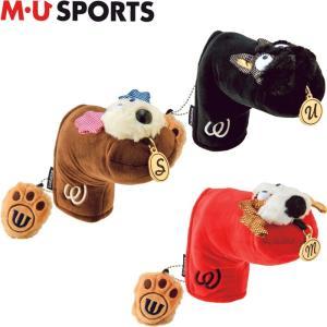 M・U SPORTS MUスポーツ 703P6522  パターカバー ピンタイプ用 |golf-atlas