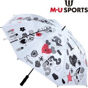 M・U SPORTS MUスポーツ 703V2930  UVアンブレラ 【レディース/ゴルフ傘/パラソル】 |golf-atlas