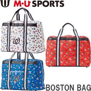 M・U SPORTS MUスポーツ   703W6206 ボストンバッグ  |golf-atlas